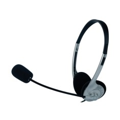 Foto Headset C3 Tech com Microfone Voicer Light
