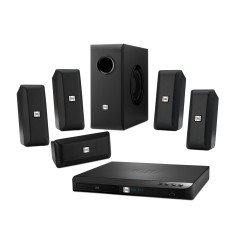 Foto Home Theater JBL com Blu-Ray 3D 300 W 5.1 Canais 3 HDMI Cinema BD-100