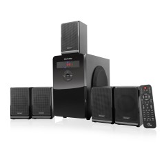 Foto Home Theater Multilaser 80 W 5.1 Canais SP177