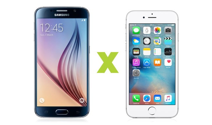 iPhone 6S ou Galaxy S6