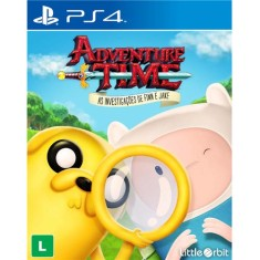 Foto Jogo Adventure Time As Investigações de Finn e Jake PS4 Little Orbit