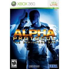 Foto Jogo Alpha Protocol Xbox 360 Sega