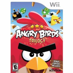 Foto Jogo Angry Birds: Trilogy Wii Activision