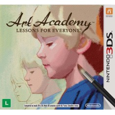 Foto Jogo Art Academy Lessons for Everyone Nintendo 3DS