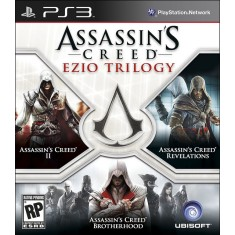 Foto Jogo Assassin's Creed Ezio Trilogy PlayStation 3 Ubisoft