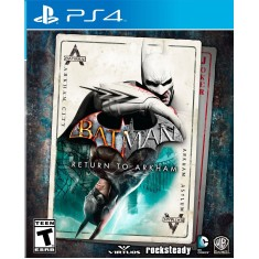 Foto Jogo Batman Return to Arkham PS4 Warner Bros