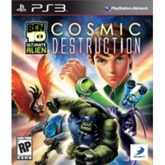 Foto Jogo Ben 10 Ultimate Alien: Cosmic Destruction PlayStation 3 D3 Publisher