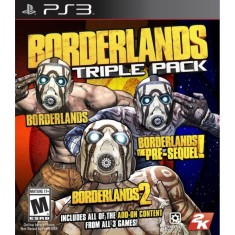 Foto Jogo Borderlands Triple Pack PlayStation 3 2K