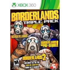 Foto Jogo Borderlands Triple Pack Xbox 360 2K