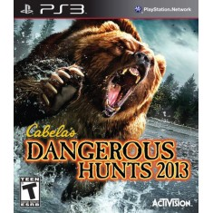 Foto Jogo Cabela's Dangerous Hunts 2013 PlayStation 3 Activision