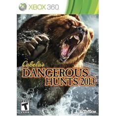 Foto Jogo Cabela's Dangerous Hunts 2013 Xbox 360 Activision
