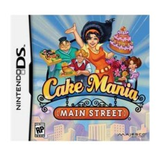 Foto Jogo Cake Mania Main Street Majesco Entertainment Nintendo DS