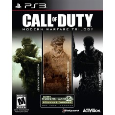Foto Jogo Call of Duty Modern Warfare Trilogy PlayStation 3 Activision
