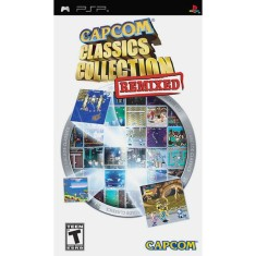 Foto Jogo Capcom Classics Collection Remixed Capcom PlayStation Portátil