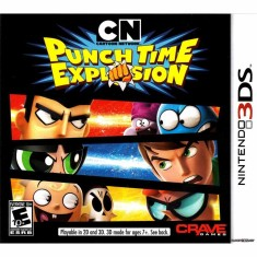 Foto Jogo Cartoon Network: Punch Time Explosion Crave Games Nintendo 3DS