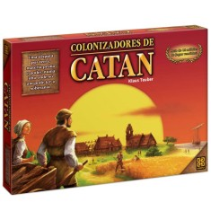 Foto Jogo Colonizadores do Catan Grow