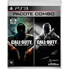 Foto Jogo Combo Call of Duty Black Ops e Black Ops II PlayStation 3 Activision