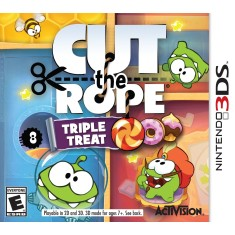 Foto Jogo Cut the Rope: Triple Treat Activision Nintendo 3DS