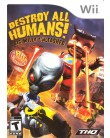 Jogo Destroy All Humans Big Willy Unleashed Wii THQ