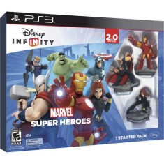 Foto Jogo Disney infinity 2.0 Marvel Super Heroes PlayStation 3 Disney