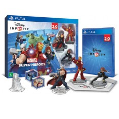 Foto Jogo Disney Infinity 2.0 Marvel Super Heroes PS4 Disney
