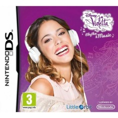 Foto Jogo Disney Violetta Rhythm & Music Little Orbit Nintendo DS