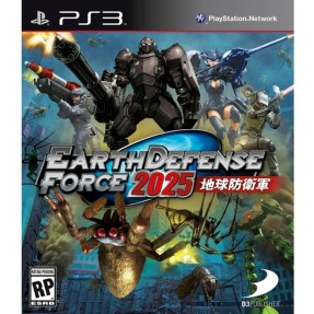 Foto Jogo Earth Defense Force 2025 PlayStation 3 D3 Publisher