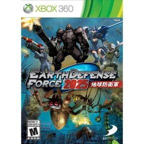 Foto Jogo Earth Defense Force 2025 Xbox 360 D3 Publisher