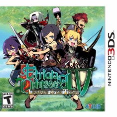 Foto Jogo Etrian Odyssey IV: Legends of the Titan Atlus Nintendo 3DS