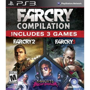 Foto Jogo Far Cry: Compilation PlayStation 3 Ubisoft