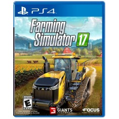 Foto Jogo Farming Simulator 17 PS4 Focus
