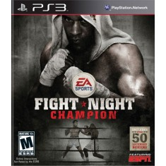 Foto Jogo Fight Night Champion PlayStation 3 EA