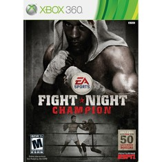 Foto Jogo Fight Night Champion Xbox 360 EA