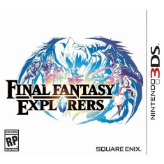 Foto Jogo Final Fantasy Explorers Square Enix Nintendo 3DS