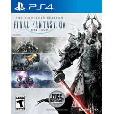 Foto Jogo Final Fantasy XIV Complete PS4 Square Enix