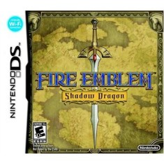 Foto Jogo Fire Emblem Shadow Dragon Nintendo DS