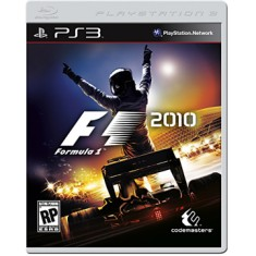 Foto Jogo Formula 1 2010 PlayStation 3 Codemasters