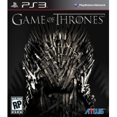 Foto Jogo Game of Thrones PlayStation 3 Atlus