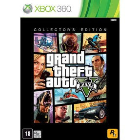 Foto Jogo Grand Theft Auto V: Collector's Edition Xbox 360 Rockstar