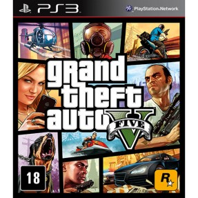 Foto Jogo Grand Theft Auto V PlayStation 3 Rockstar
