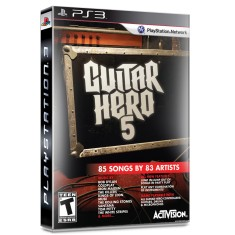 Foto Jogo Guitar Hero 5 PlayStation 3 Activision