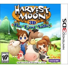 Foto Jogo Harvest Moon: The Lost Valley Natsume Nintendo 3DS