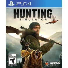 Foto Jogo Hunting Simulator PS4 Maximum Games