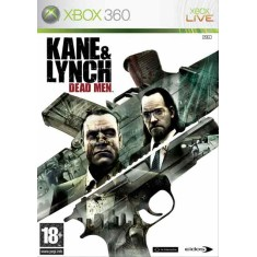 Foto Jogo Kane & Lynch Dead Men Xbox 360 Square Enix