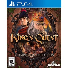 Foto Jogo King's Quest The Collection PS4 Sierra