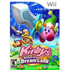 Foto Jogo Kirby's Return to Dream Land Wii Nintendo