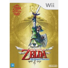 Foto Jogo Legend of Zelda: Skyward Sword Wii Nintendo