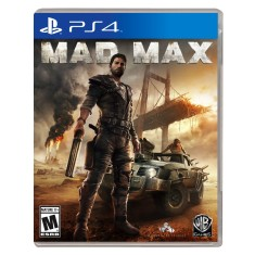 Foto Jogo Mad Max PS4 Warner Bros