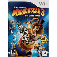 Foto Jogo Madagascar 3: The Game Wii D3 Publisher