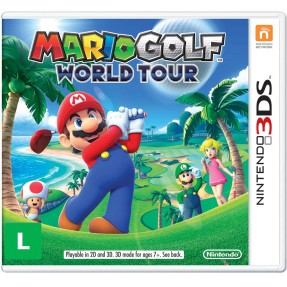 Foto Jogo Mario Golf World Tour Nintendo 3DS